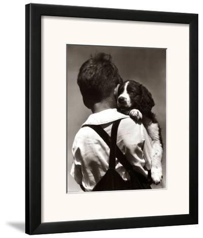 Puppy Love-H^ Armstrong Roberts-Framed Art Print