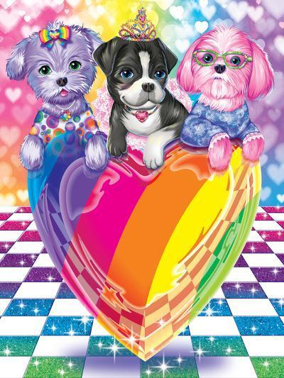 Puppy Love-Lisa Frank-Art Print
