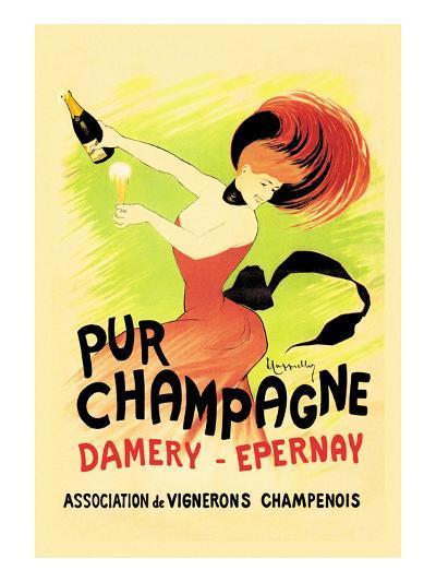 Pur Champagne-Leonetto Cappiello-Art Print