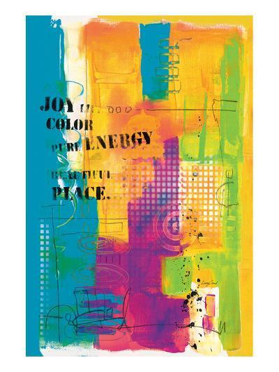 Pure Energy-Lucy Cloud-Art Print