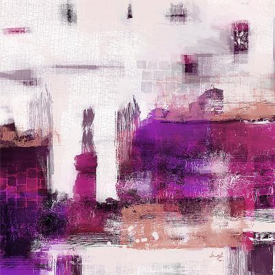 Purple Abstract II--Art Print