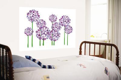 Purple Allium-Avalisa-Wall Mural