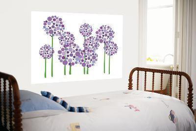 Purple Allium-Avalisa-Giant Art Print