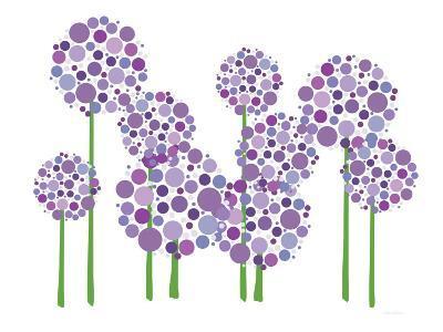 Purple Allium-Avalisa-Art Print