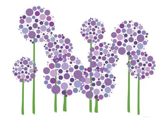 Purple Allium-Avalisa-Premium Giclee Print