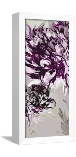 Purple Allure I-Sally Scaffardi-Framed Canvas Print