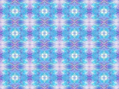 Purple and Blue Ethereal-Deanna Tolliver-Giclee Print