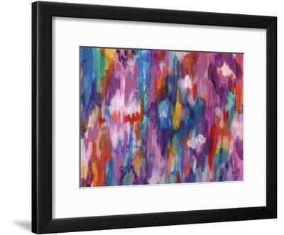 Purple Barrage-Smith Haynes-Framed Art Print