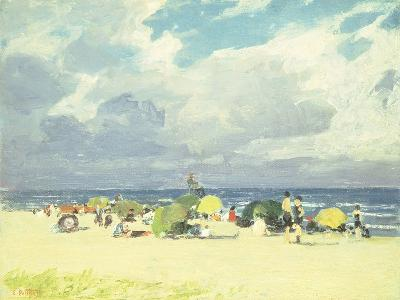 Purple Beach Scene-Edward Henry Potthast-Giclee Print