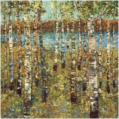 Purple Birch-Carmen Dolce-Art Print