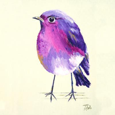 Purple Bird II-Patricia Pinto-Art Print