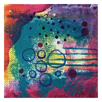 Purple Cave-Pam Varacek-Art Print