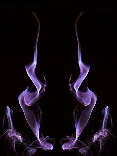 Purple Flames-Heidi Westum-Photographic Print