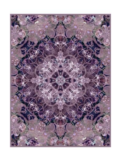 Purple Flower Mandala II-Alaya Gadeh-Art Print