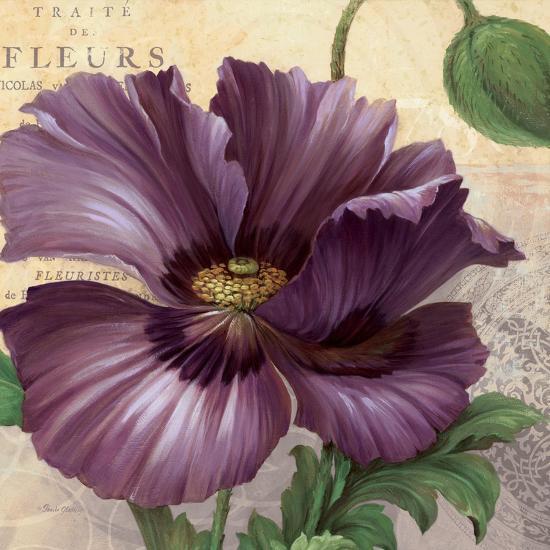 Purple Garden I-Pamela Gladding-Art Print