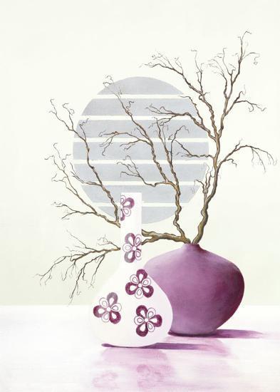 Purple Inspiration I-David Sedalia-Art Print