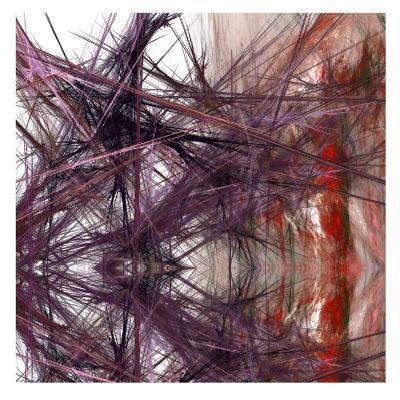Purple Light III-Jean-Fran?ois Dupuis-Art Print
