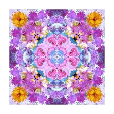 Purple Mandala-Alaya Gadeh-Art Print
