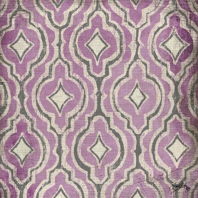 Purple Modele II-Elizabeth Medley-Art Print