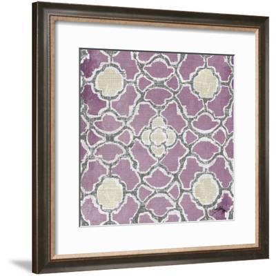 Purple Modele III-Elizabeth Medley-Framed Art Print