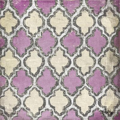 Purple Modele IV-Elizabeth Medley-Art Print