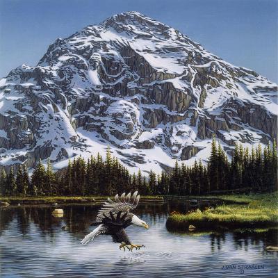 Purple Mountain Majesty-John Van Straalen-Giclee Print