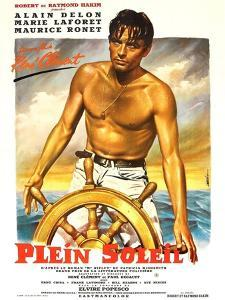 Purple Noon, French Movie Poster, 1964