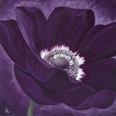 Purple Passion I-Kaye Lake-Art Print