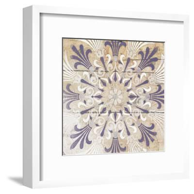 Purple Pattern 3-Jace Grey-Framed Art Print