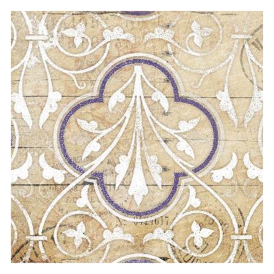 Purple Pattern 7-Jace Grey-Art Print