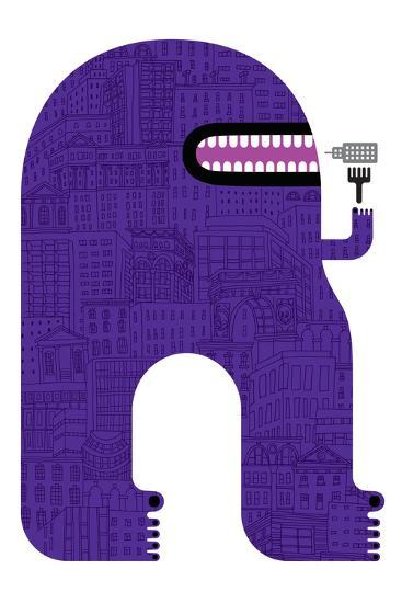 Purple People Eater-Melinda Beck-Art Print