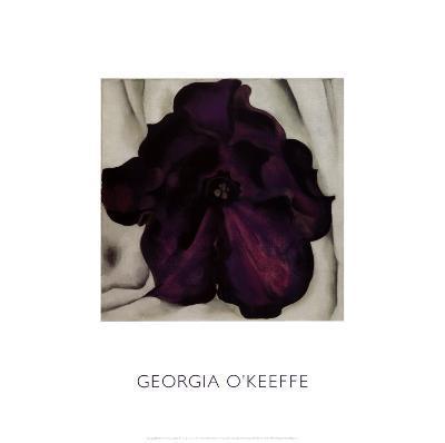 Purple Petunia, 1925-Georgia O'Keeffe-Art Print