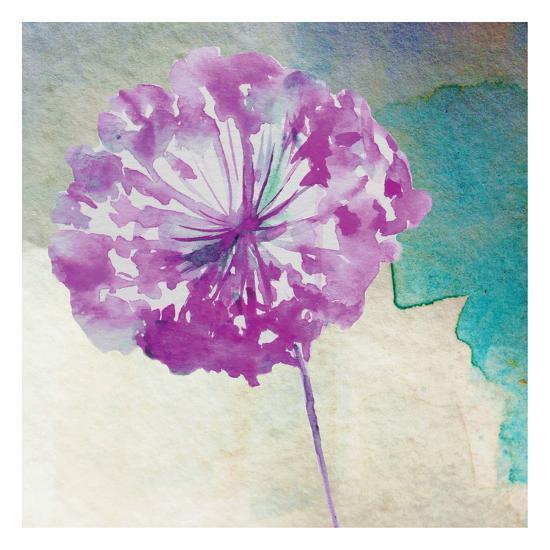 Purple Poof-Boho Hue Studio-Art Print
