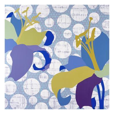 Purple Rain-Mary Calkins-Premium Giclee Print