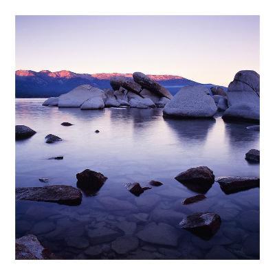 Purple Rocks-PhotoINC Studio-Art Print