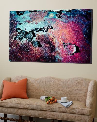 Purple Rust Up Close III-Jean-Fran?ois Dupuis-Loft Art