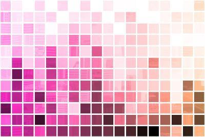 Purple Simplistic And Minimalist Abstract-kentoh-Art Print