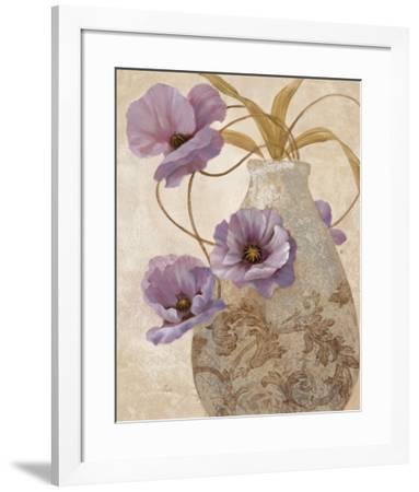 Purple Sophistication II-Nan-Framed Art Print