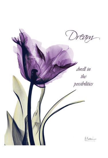 Purple Tulip, Dream-Albert Koetsier-Art Print