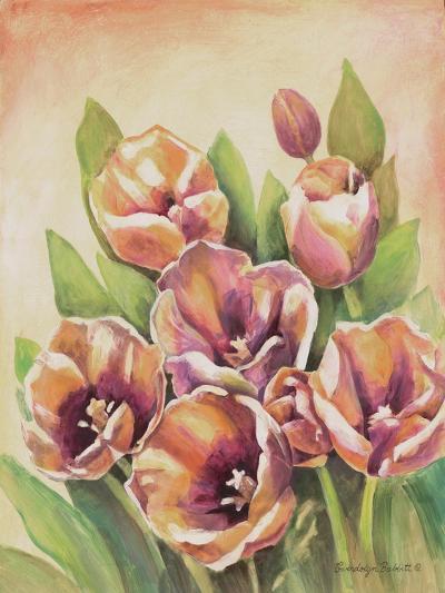 Purple Tulips II-Gwendolyn Babbitt-Art Print