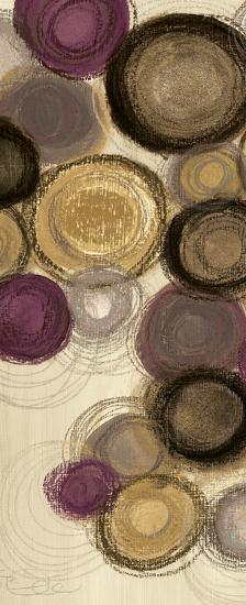 Purple Whimsy Panel I-Jeni Lee-Art Print