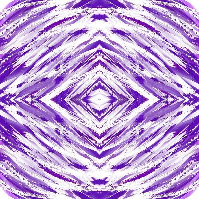 Purple with White Streaks-Deanna Tolliver-Giclee Print