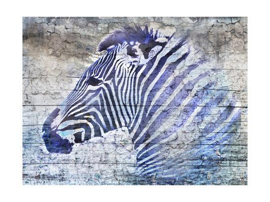 Purple Zebra-Surma & Guillen-Art Print