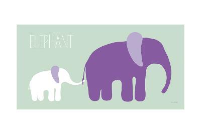 Purple Zoo VI-Kris Ruff-Art Print