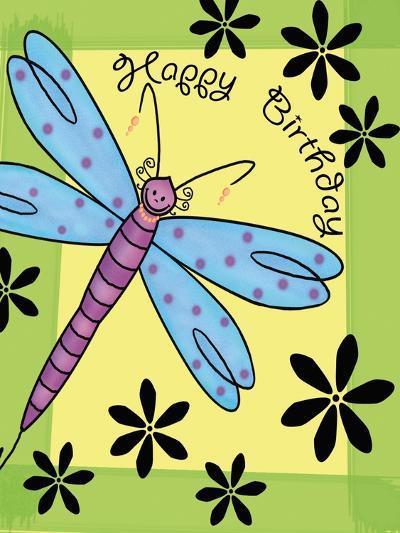 Purplefly-Maria Trad-Giclee Print