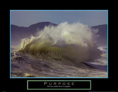 Purpose: Wave-Craig Tuttle-Art Print