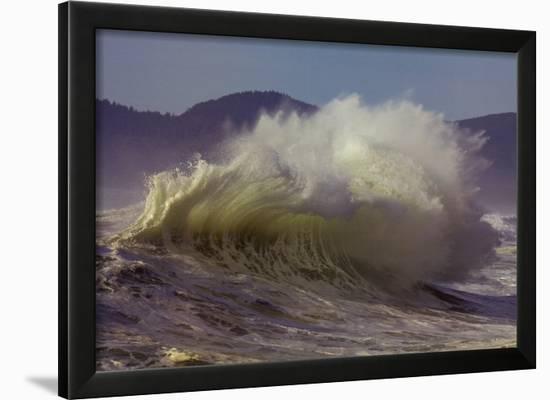 Purpose: Wave-Craig Tuttle-Framed Art Print