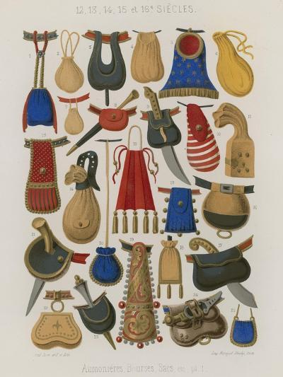 Purses, Pouches and Bags--Giclee Print