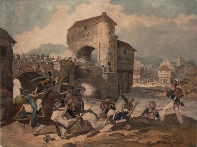 Pursuit of the French at Toulouse, 1814--Giclee Print