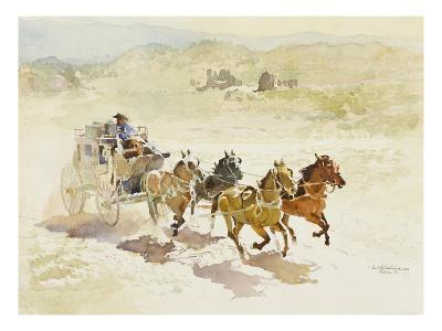 Pursuit-LaVere Hutchings-Giclee Print